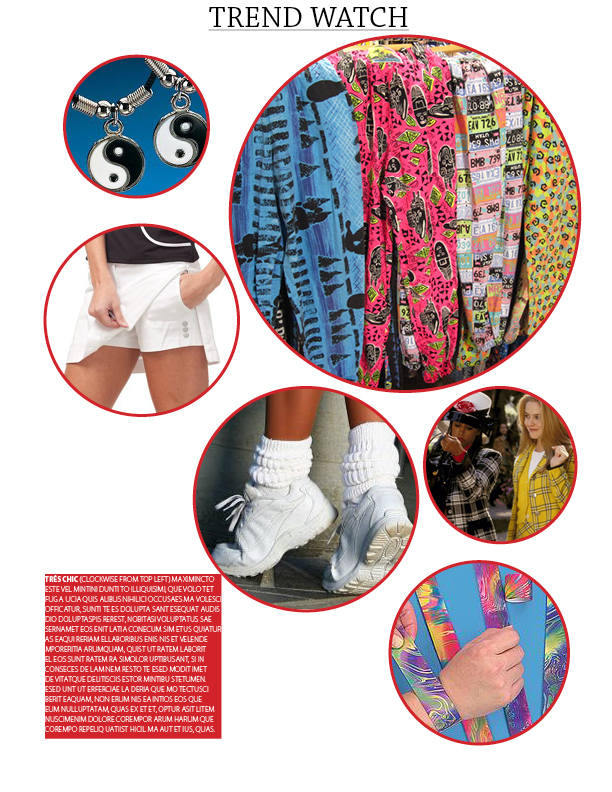 CSUN Graphic Design Assignment - Magazine Layout Page 1