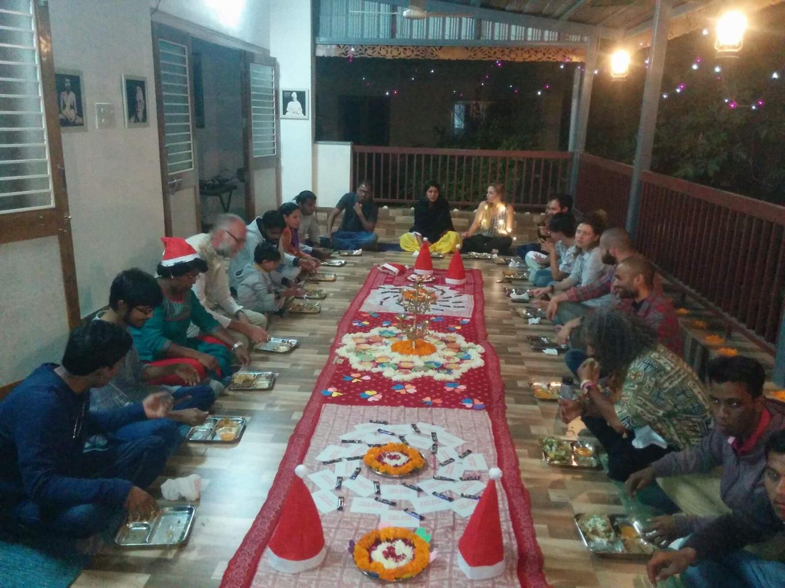 Christmas Dinner at Virenbhai's