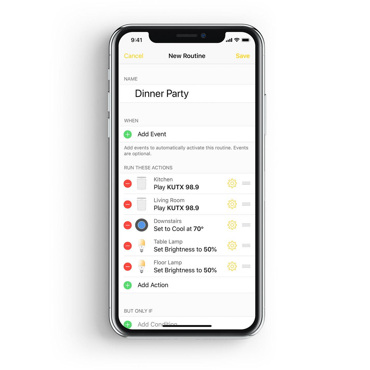 Yonomi - Yonomi App iOS Routines Dinner Party.jpg