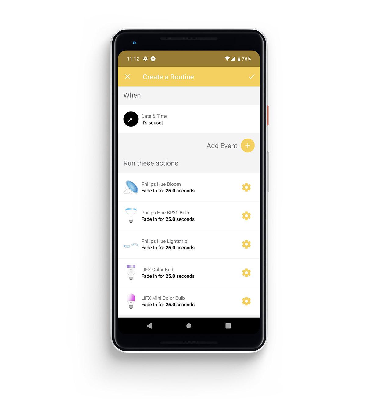 Yonomi - Yonomi App Android Routines Sunset.jpg