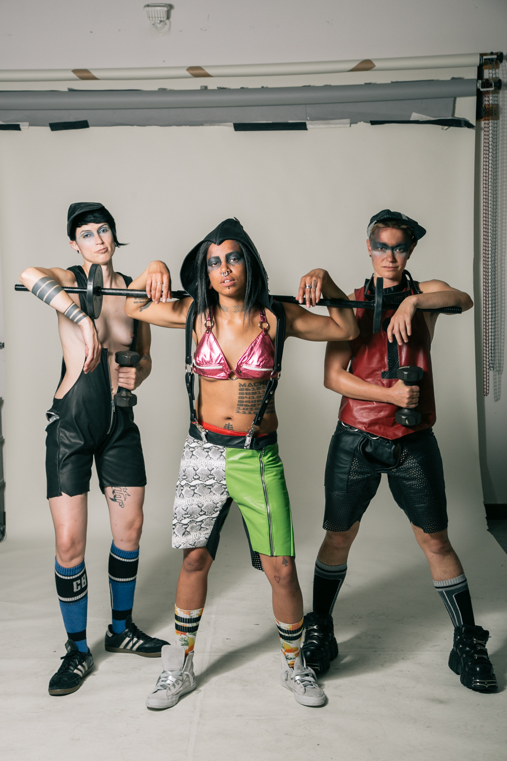 Photo: Tristan Crane  Models: Justin DeKom, Noxious, Jiz Lee