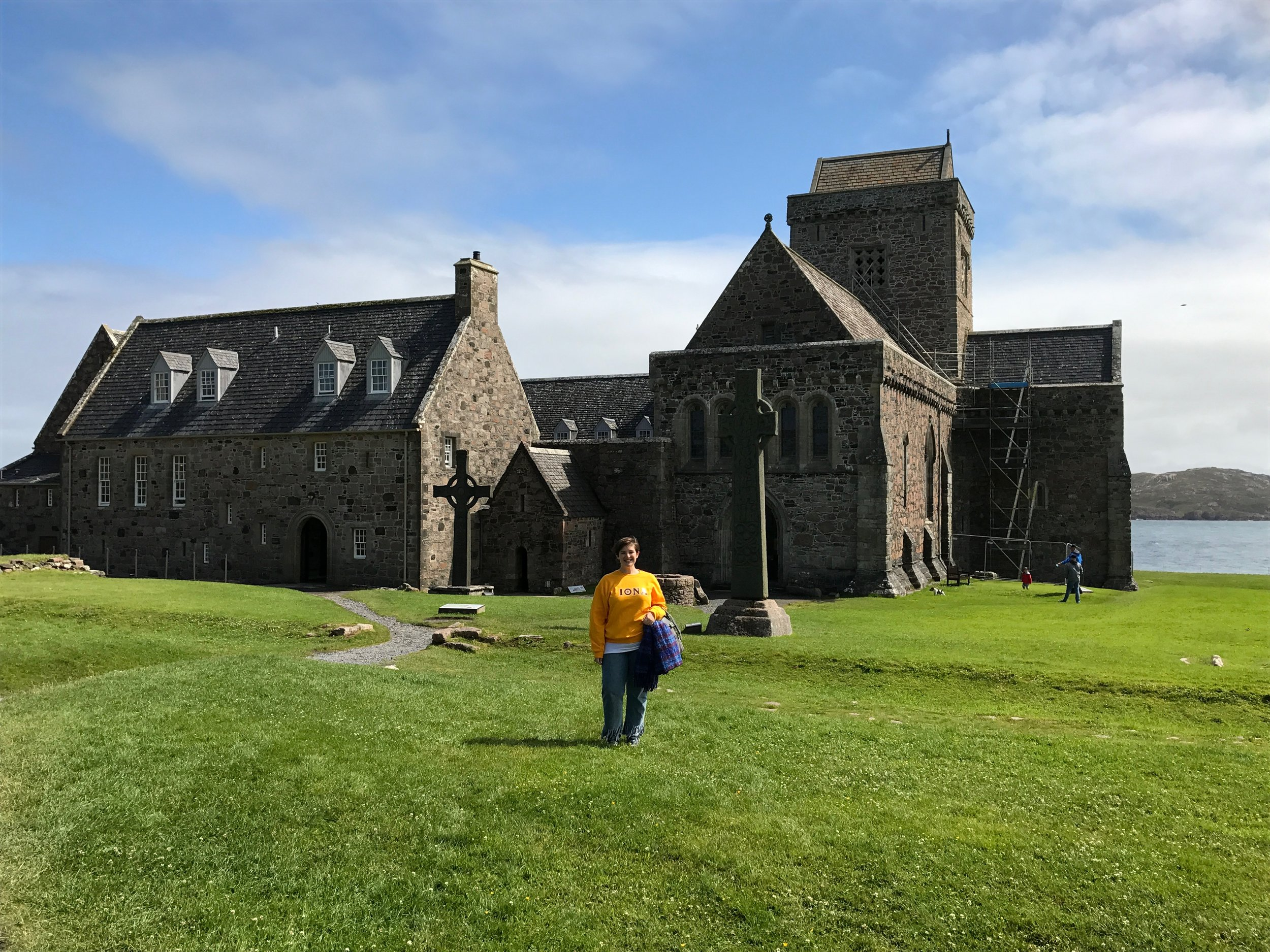 In the summer of 2017 I visited the Isle of Iona in Scotland, inspired in no small part by the role of literary property in the legend of its founding by St. Columba.