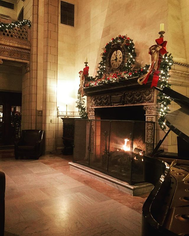 Happy holidays from all of us here @hotel340!  #cheers #joy #staywarm