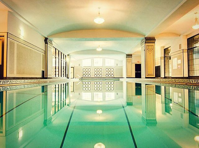Take some laps in the SPAC pool #hotel340 #healthyliving
