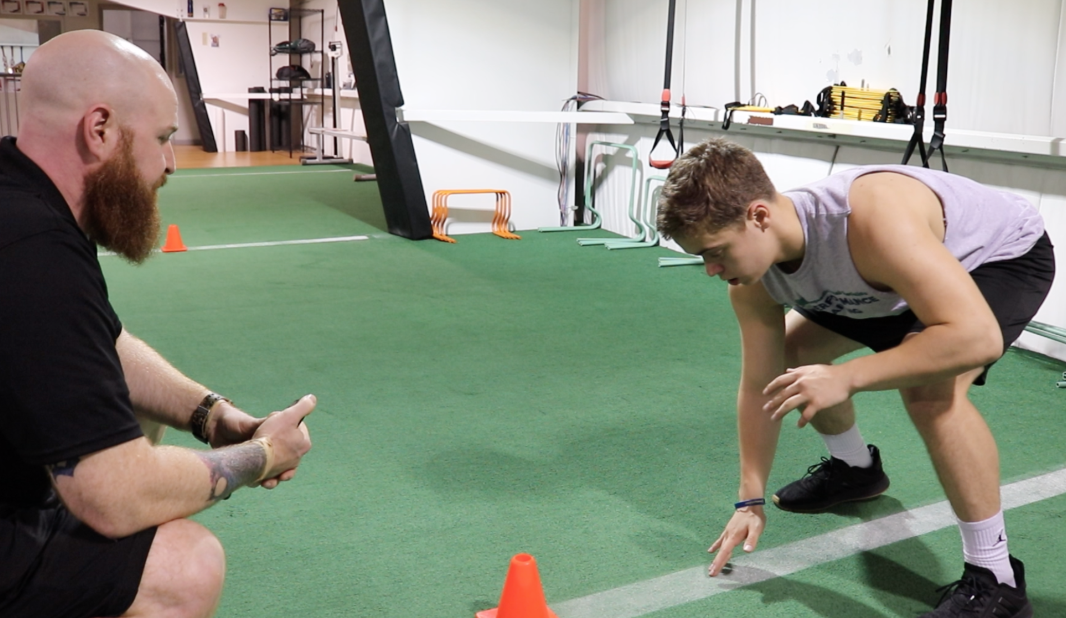 One-to-one personalized training to increase speed, agility, strength and overall skills. Call ORS Performance Training at 517-990-6222 to schedule your sessions.