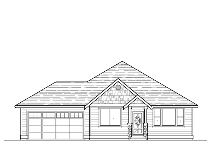 1792R.2 - Sq. Ft.: 1792 Sq. Ft.Bed: 3Bath: 2Garage: 2 Car