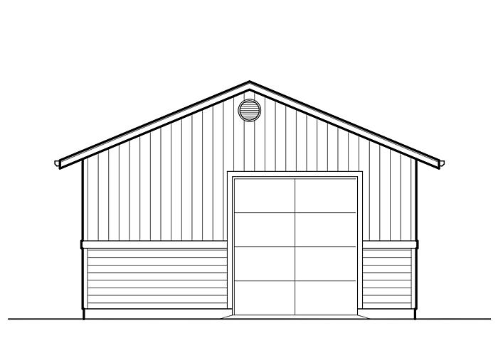 22x36 Garage - Garage Sq. Ft.: 792 Sq. Ft.Garage: 1 Car