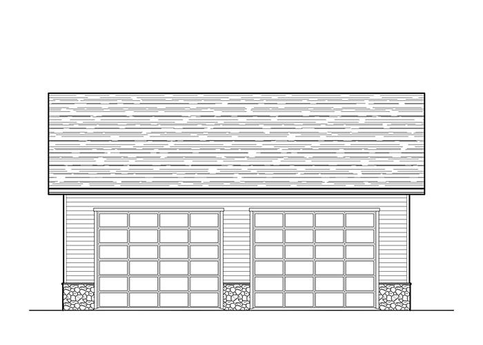 30x40 Garage - Garage Sq. Ft.: 1200 Sq. Ft.Garage: 2 Car