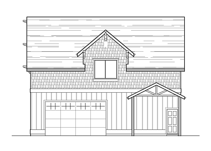 30x40 Garage with Shop & Living Space - Garage Sq. Ft.: 1141 Sq. Ft.Upper Floor Sq. Ft.: 721 Sq. Ft.Bedrooms: 1Bathrooms: 1.5Garage: 2 Car