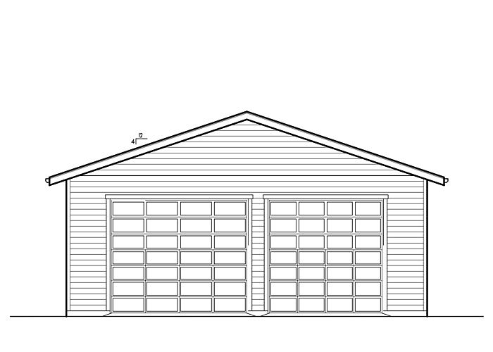32x38 Garage - Garage Sq. Ft.: 1216 Sq. Ft.Garage: 2 Car