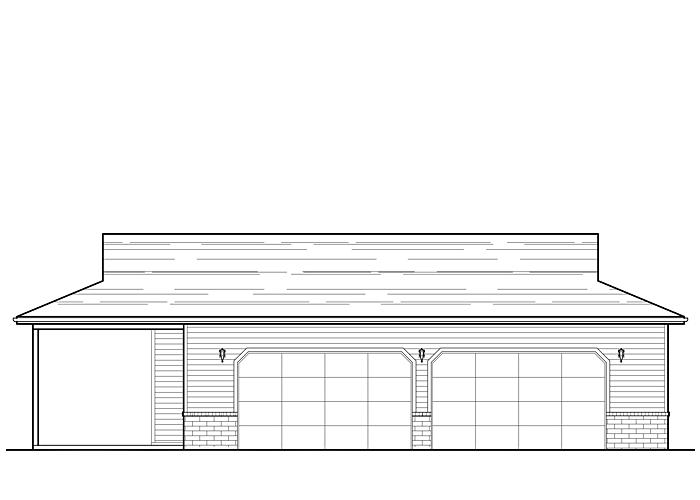 34x59 Garage - Garage Sq. Ft.: 1542 Sq. Ft.Garage: 2 Car