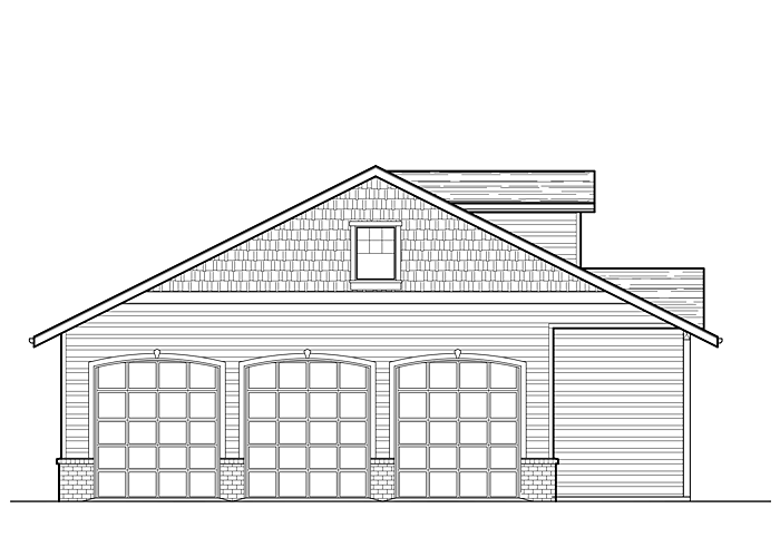 40x46 Garage with Shop - Garage Sq. Ft.: 1599 Sq. Ft.Garage: 4 Car