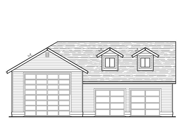 40x50 Garage with Storage Area - Garage Sq. Ft.: 1720 Sq. Ft.Storage Sq. Ft.: 472 Sq. Ft.Garage: 2 Car, 1 RV