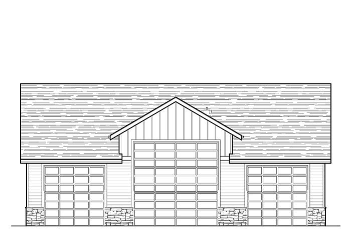 40x50 Garage with Shop Area - Garage Sq. Ft.: 2000 Sq. Ft.Storage Sq. Ft.: 240 Sq. Ft.Garage: 2 Car, 1 RV