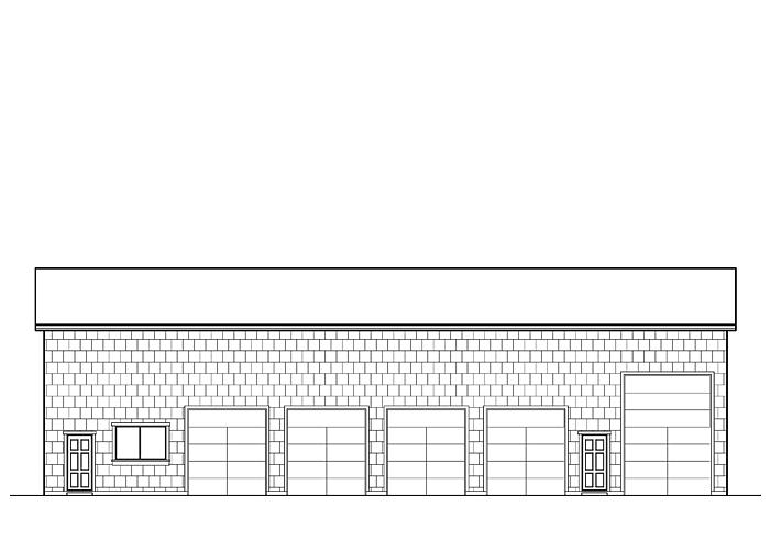 80x50 Garage with Shop Area - Garage Sq. Ft.: 4000 Sq. Ft.Garage: 5 Car, 1 RV