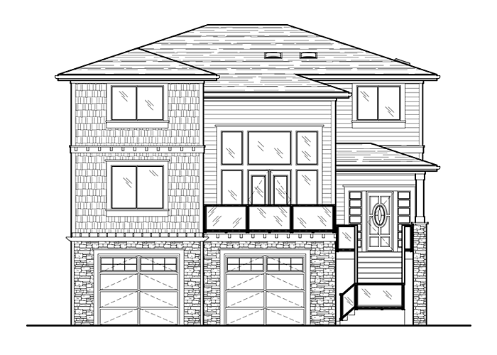 2936.2 with Daylight Basement - Sq. Ft.: 2936 Sq. Ft.Bed: 4Bath: 3Garage: 2 Car