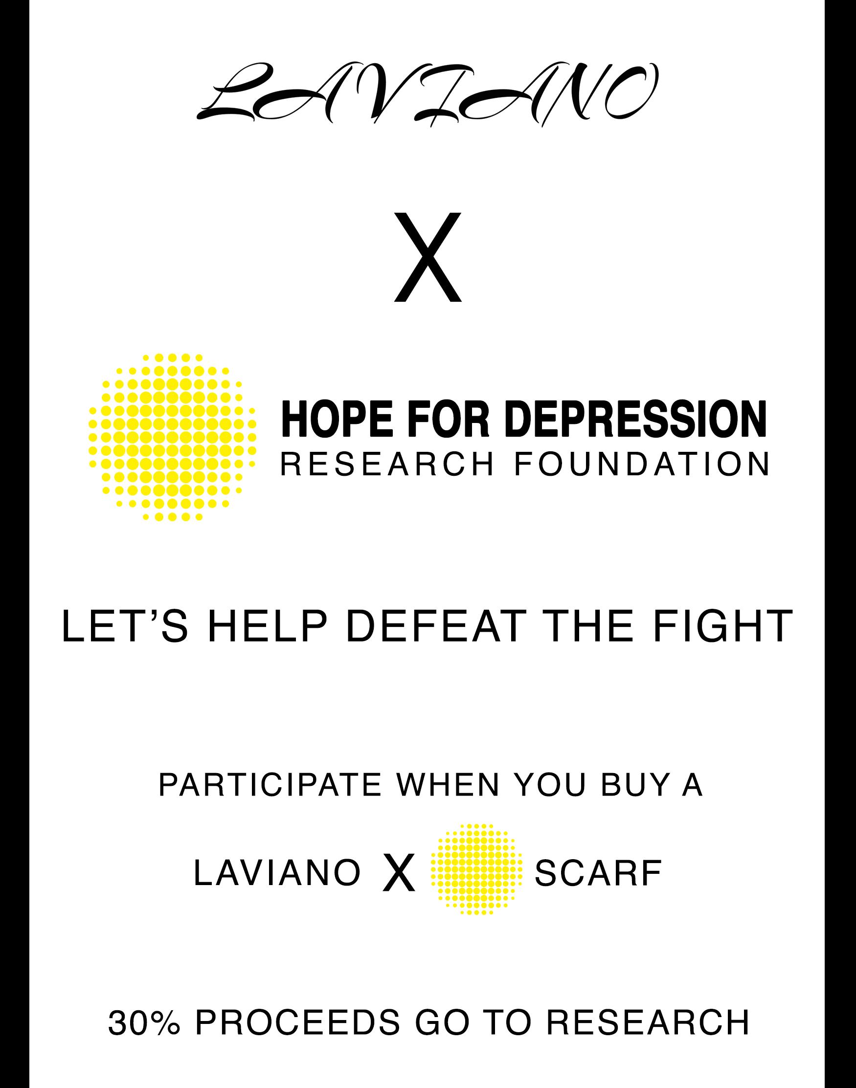 LAVIANO X HDRF SCARF CAMPAIGN -