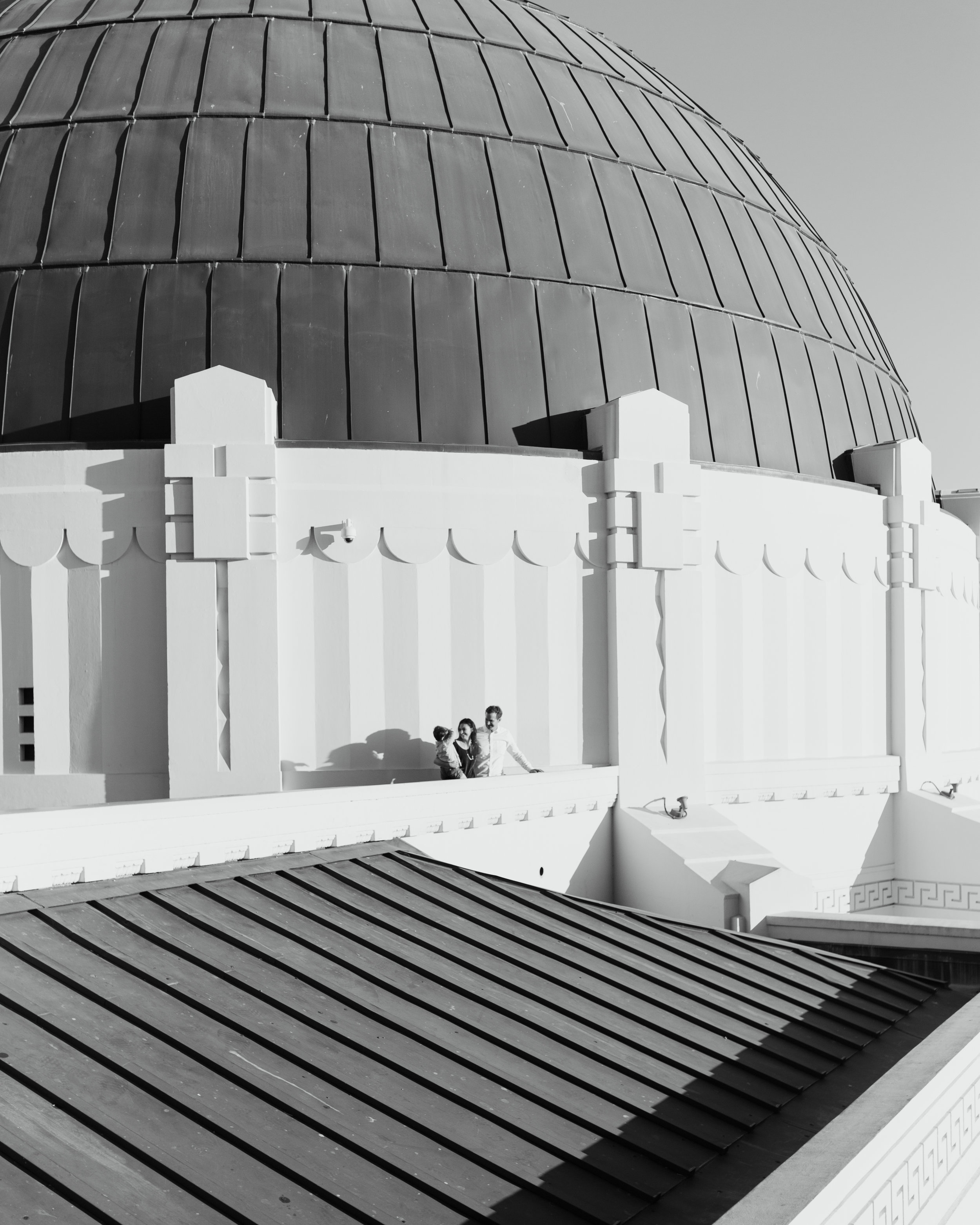 griffith observatory family photo session