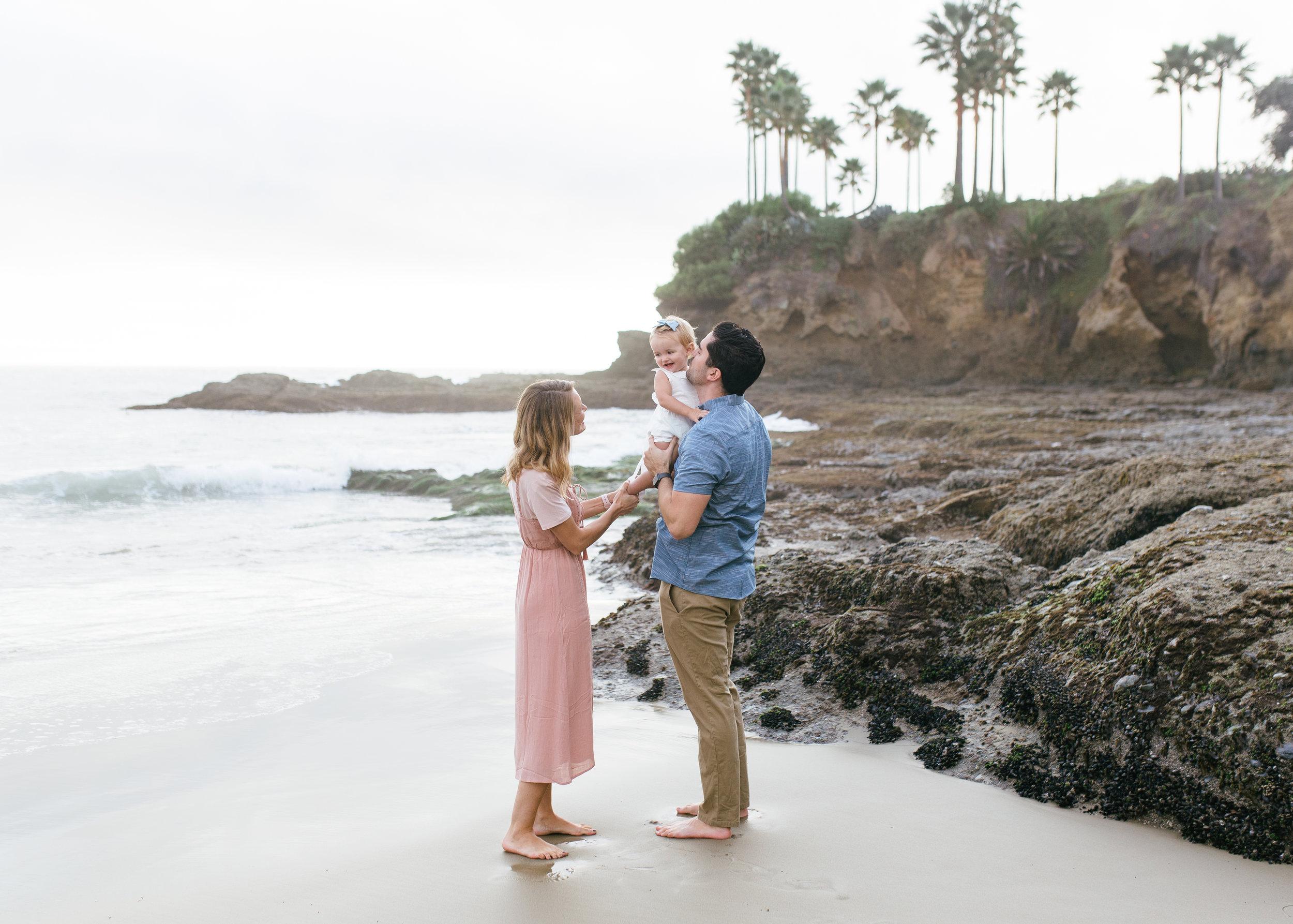 laguna beach california family photography session