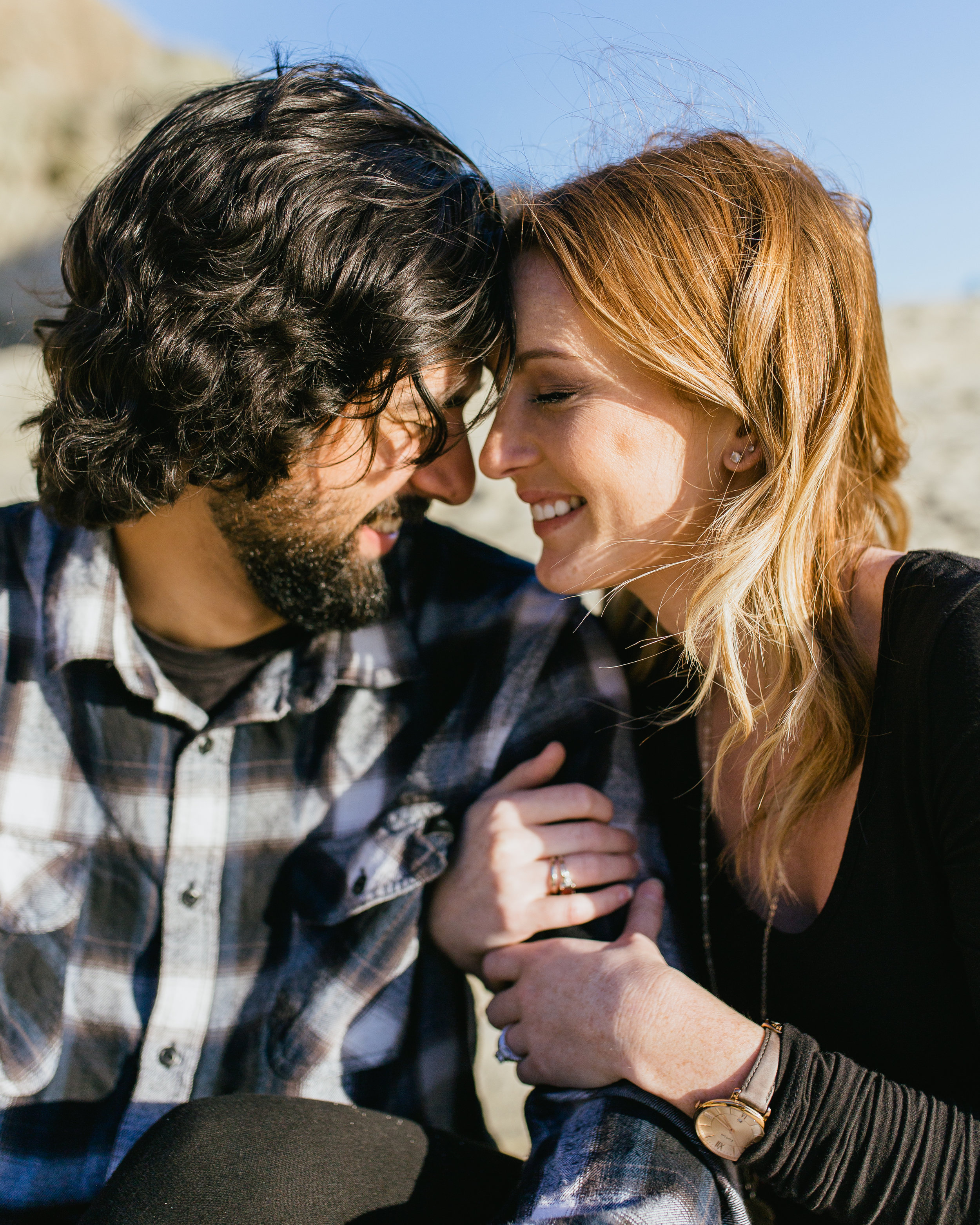 southern california engagement photgraphy session
