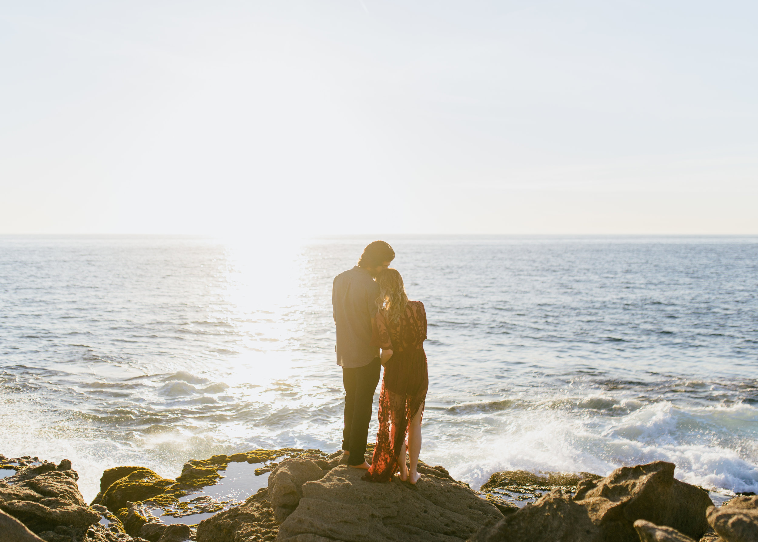 southern california engagement photography session