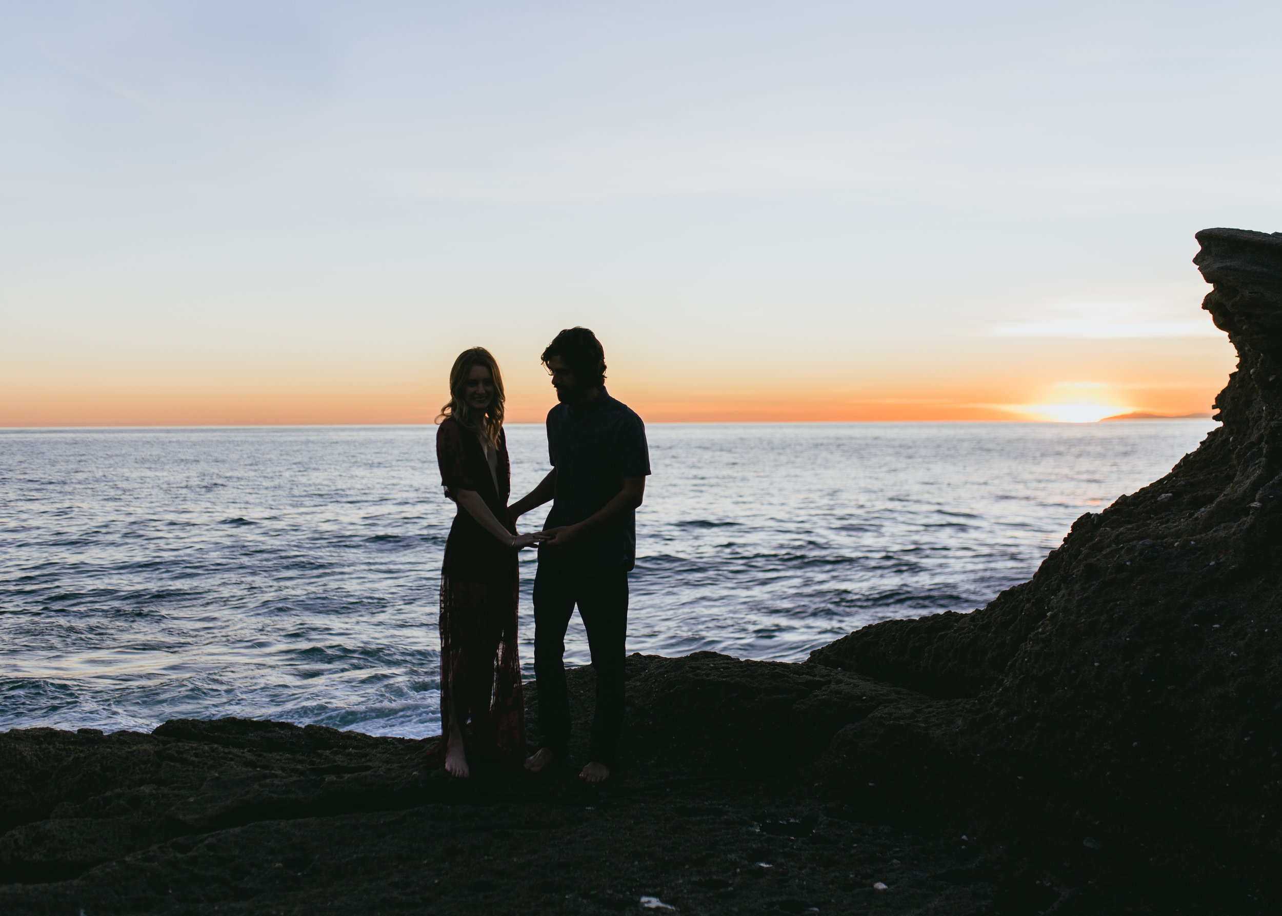 southern california los angeles photography engagement session