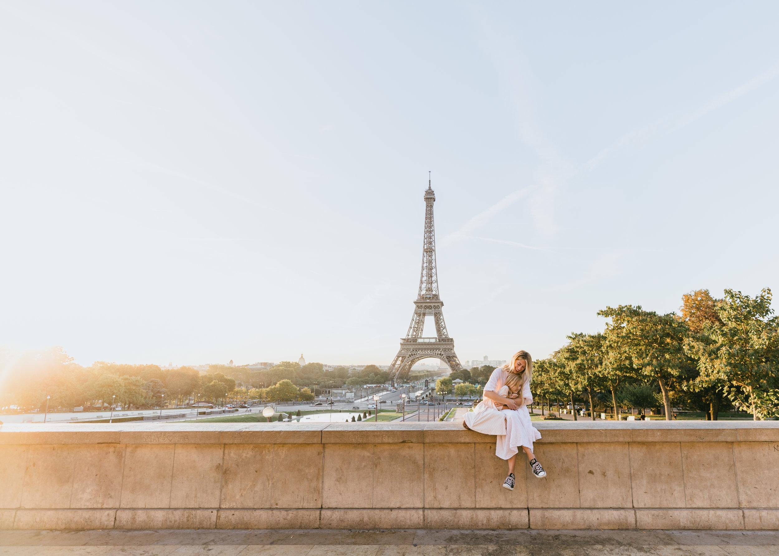 paris family photo session