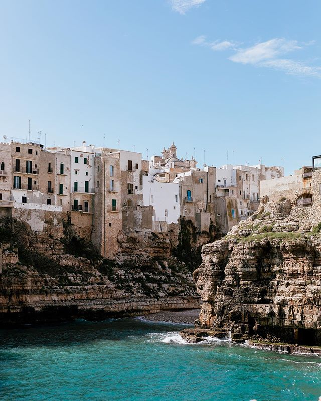 "Adding Polignano a Mare to places I want to ""summer."" 💙"