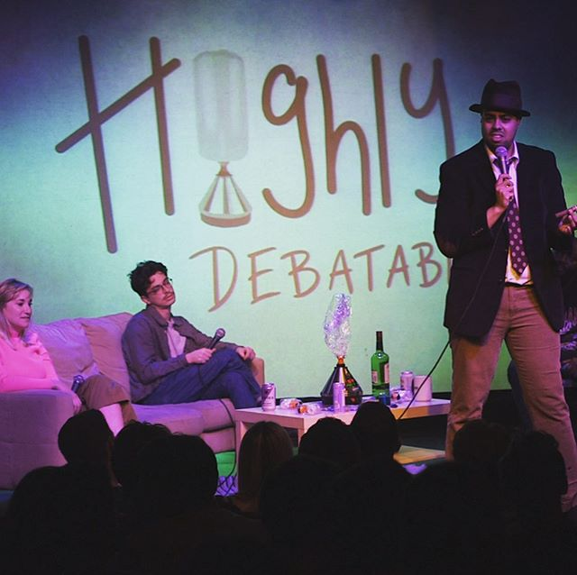 """HIGHLY DEBATABLE """"Worst Superhero"""" and other hot topics up for discussion... Coming soon 😝 #comedy #debate #weed #superhero #volcano #420"""