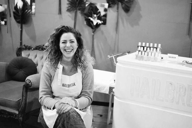 Nailbreak founder, Emily