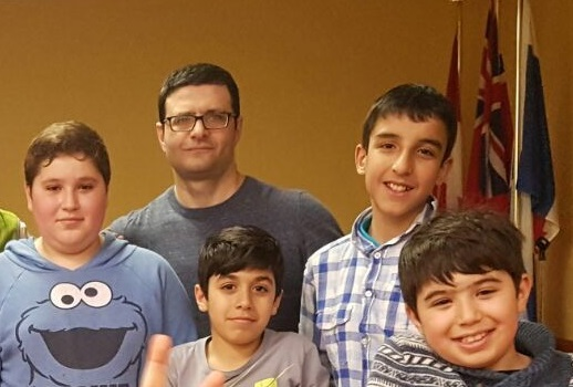 Syrian percussionist Adham was a beloved drum teacher for Nai children especially boys