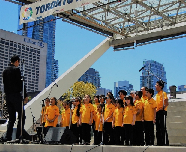 May 15 2017, City of Toronto Newcomer Day, Nathan Phillips Square