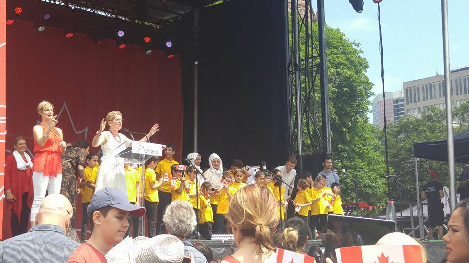 July 1 2017, Ontario Government Canada 150 Celebration