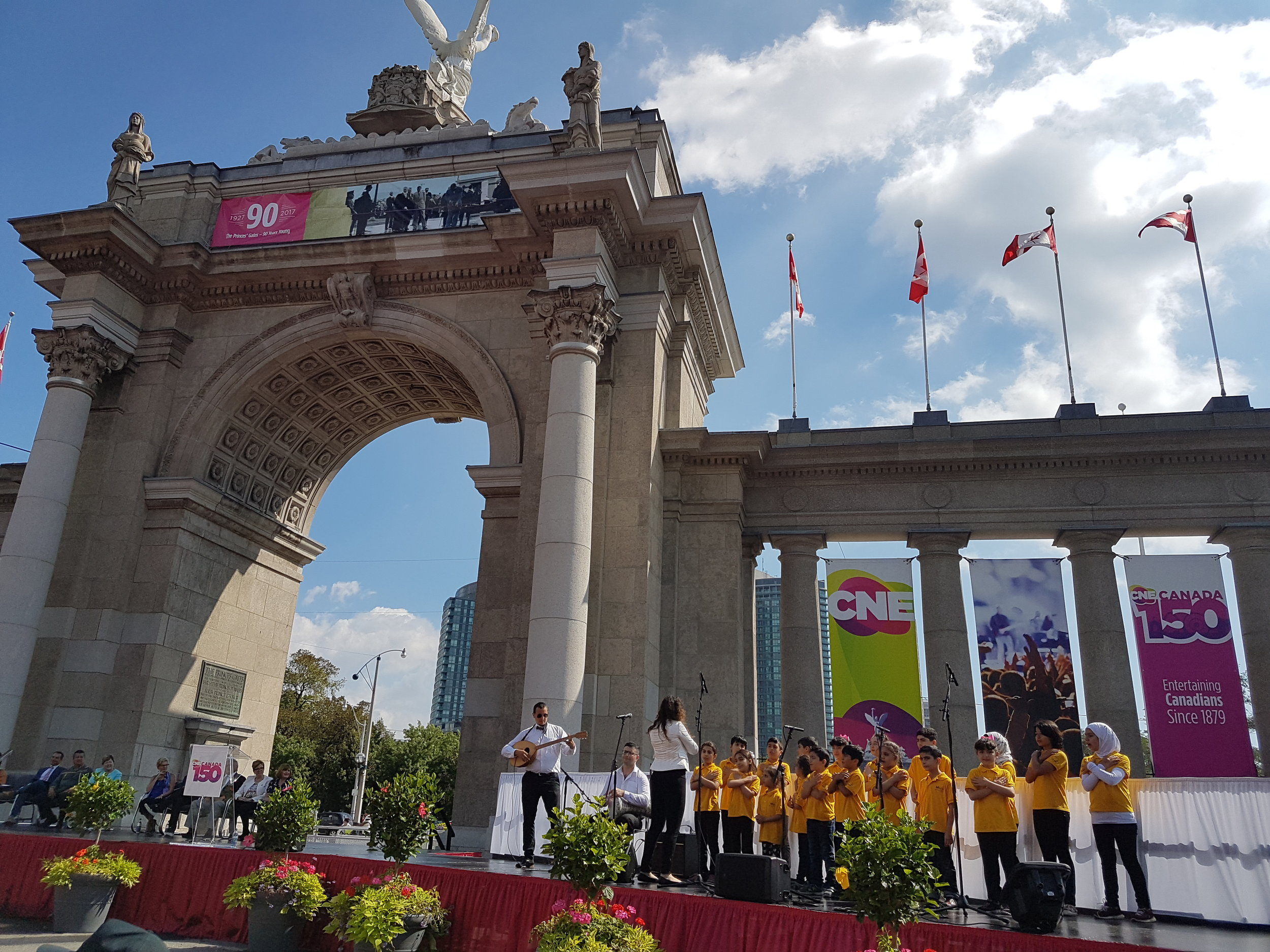 Aug 18 2017, CNE Opening Ceremony