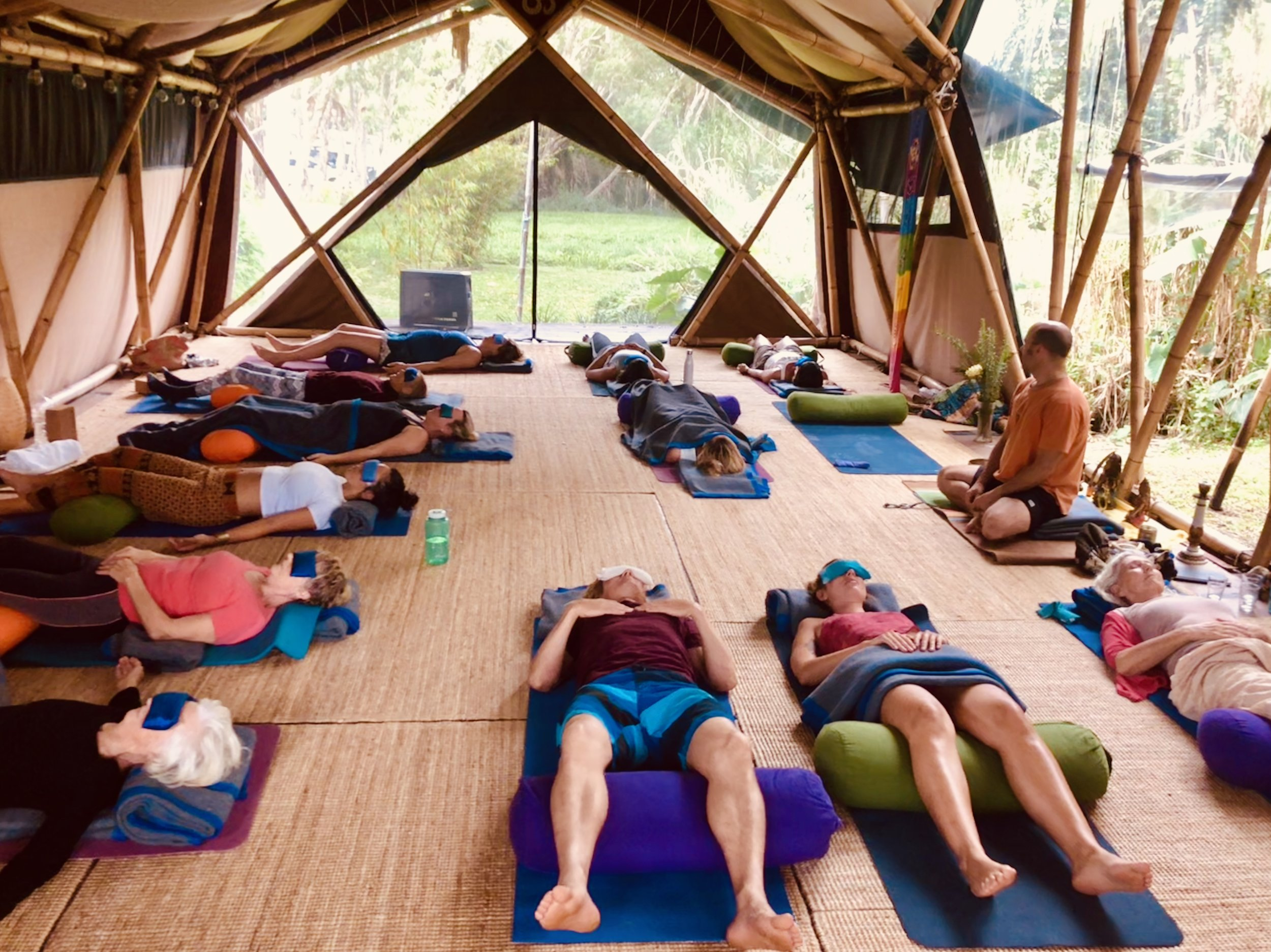Grow your Garden! - Community Yoga Nidra Free Class every Wednesday at 1pm at Bamboo Yoga Byron Bay!