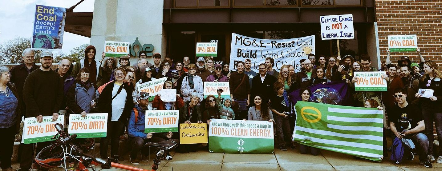Photo courtesy of Wisconsin beyond coal