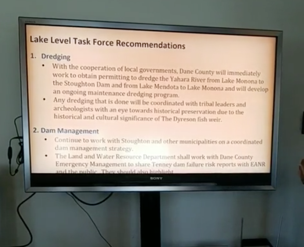 Supervisor chawla does  a facebook live video detailing task force recommendations .