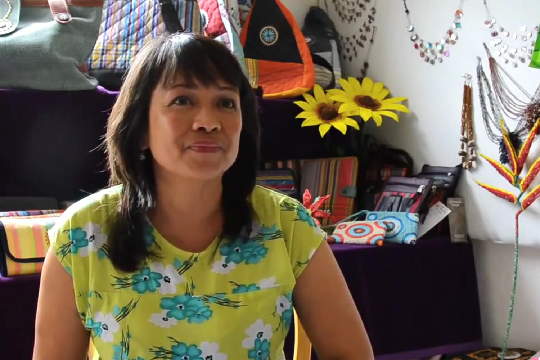 Minalyn Nicklin, founder of Life Beads Kenya (LBK)