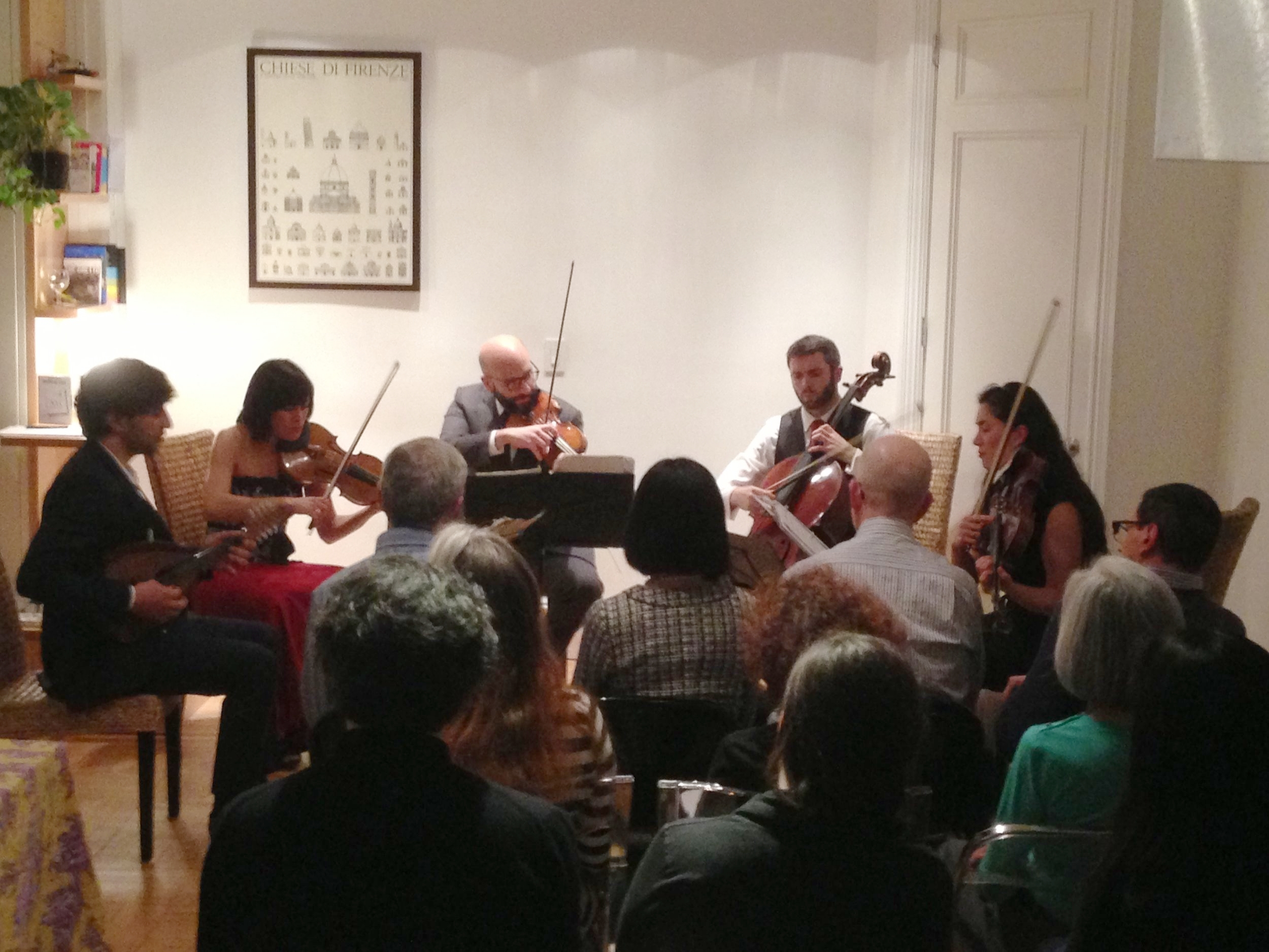 Avi Avital, mandolin, with the Enso Quartet