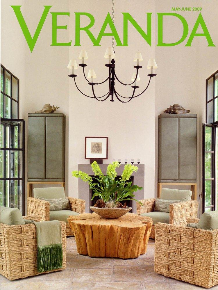 Furniture Design: John Himmel Decorative Arts  veranda, may-june 2009   upholstery & throw pillows