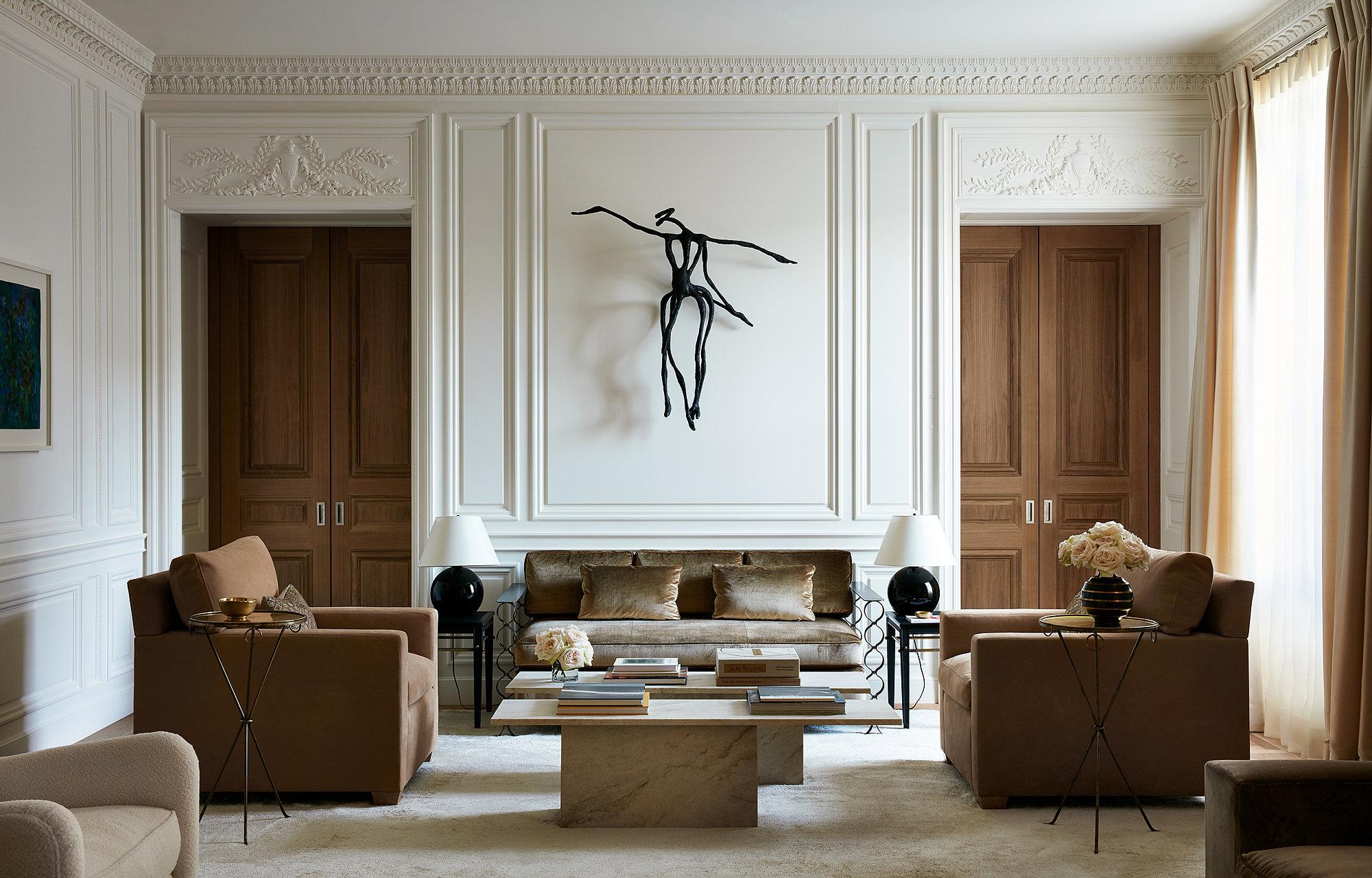 window treatments & custom upholstery  Interior Design: Atelier AM | Interior Architecture : Marvin Herman & Associates