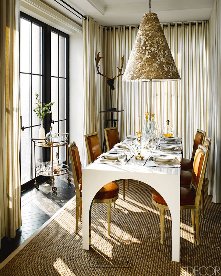 window treatments for Elle Decor Designer Visions  Interior Design: Branca, Inc.