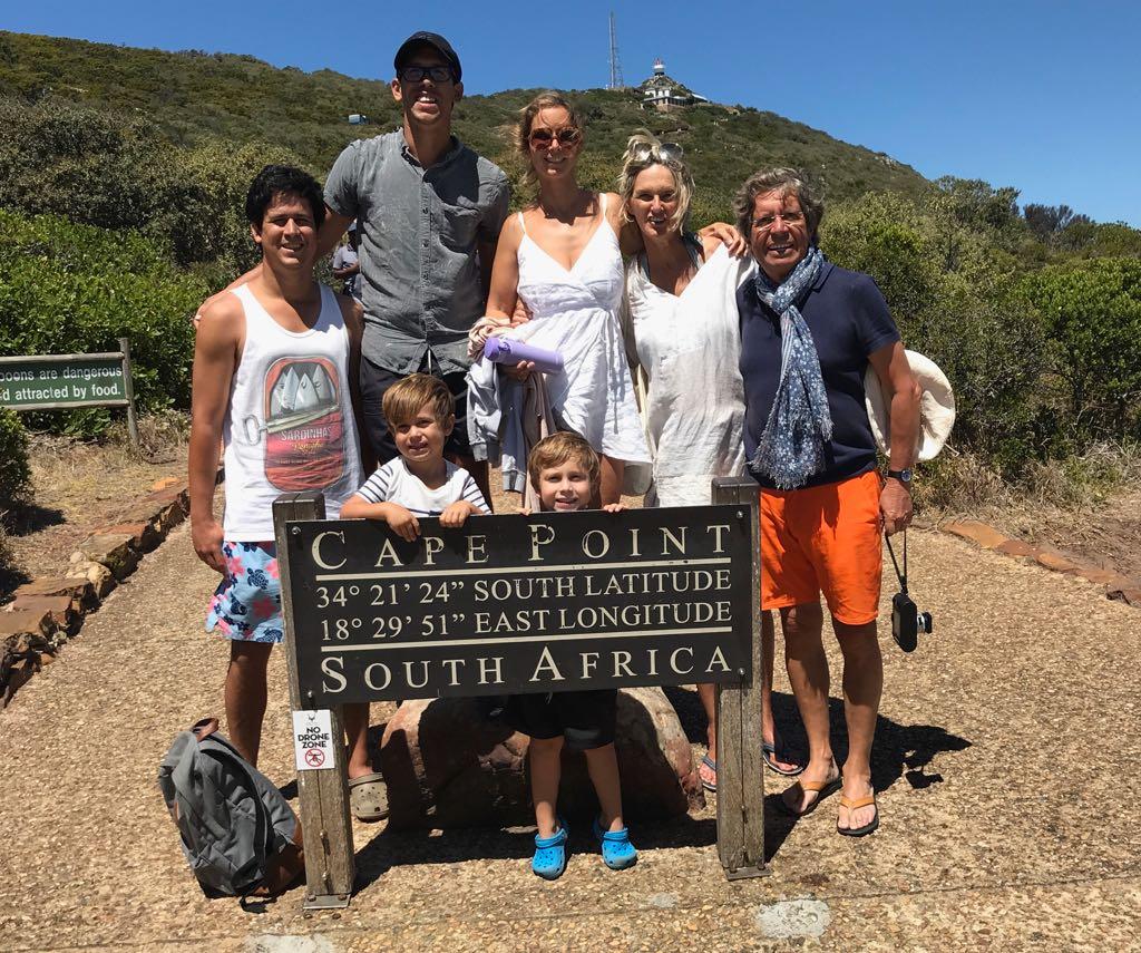 Visitamos Cape Point. Caminamos bastante, pero valió la pena.