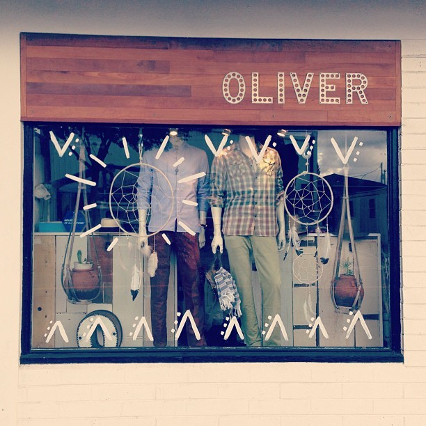 oliver store front
