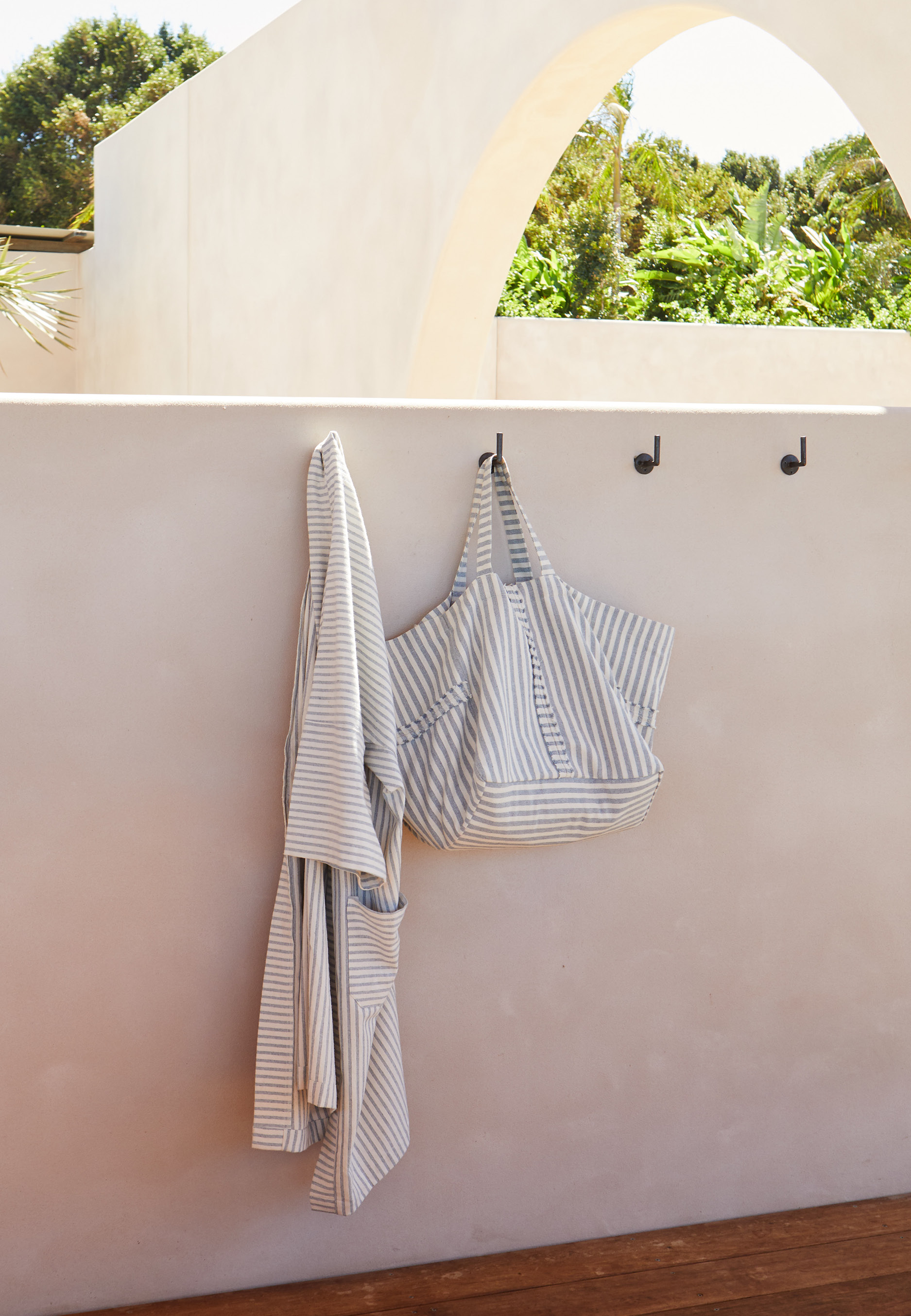 Upcycled Denim Kimono & Tote - Coming soon.