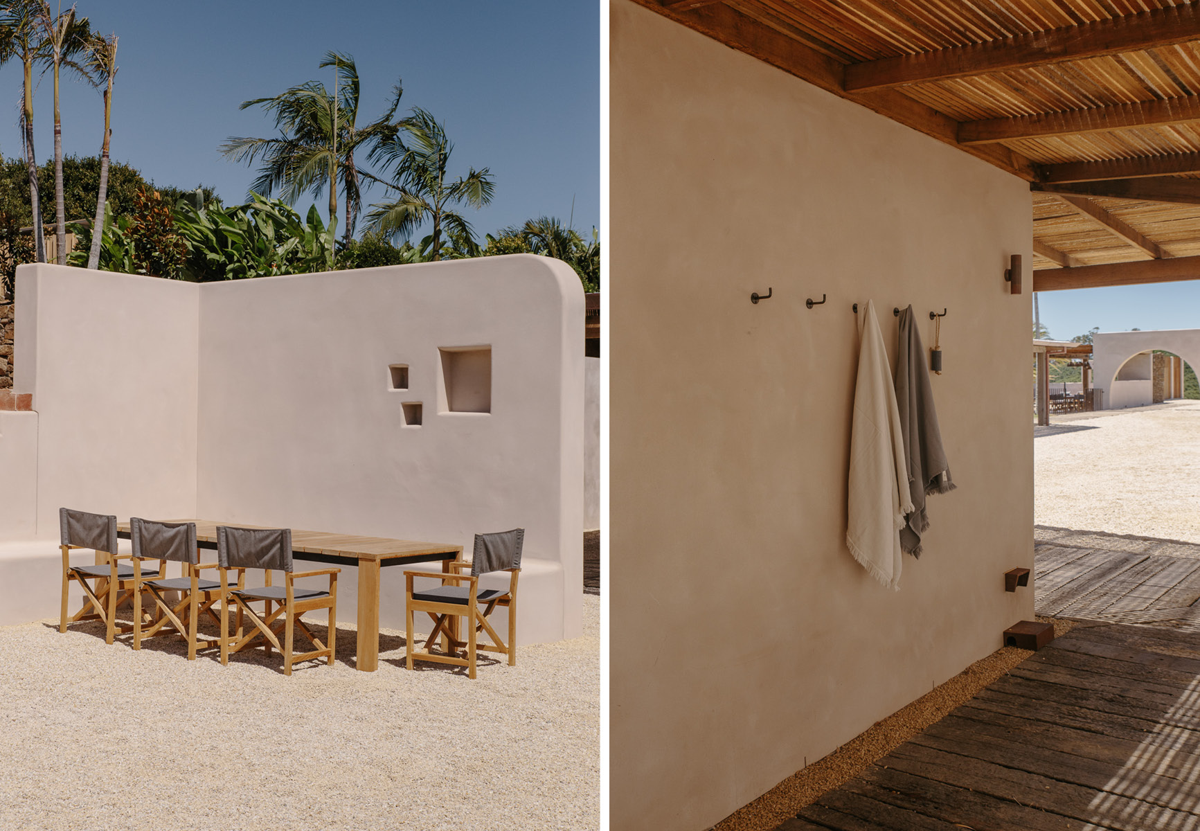 Our Stonewash Bath Towels and Soap on a Rope (now sold out) -  Shop the Towels Online Here.