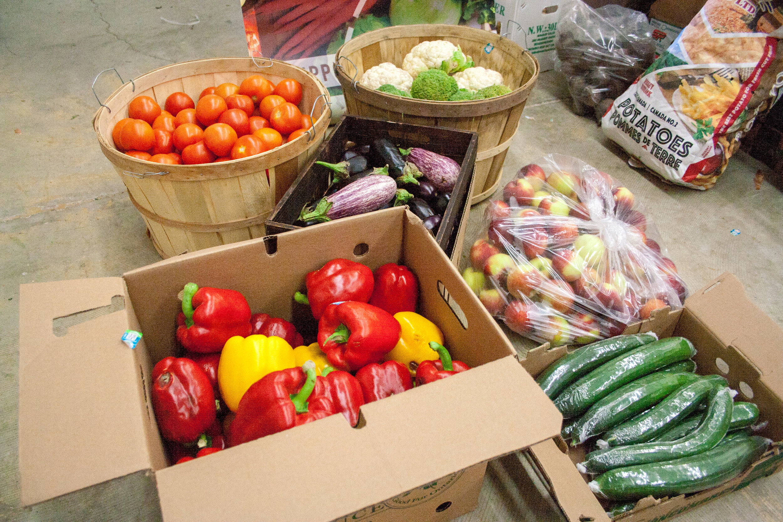 FoodFund veggies and fruits