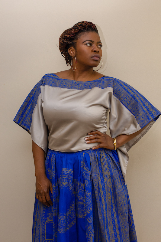 Top $45Gathered Skirt $65 -
