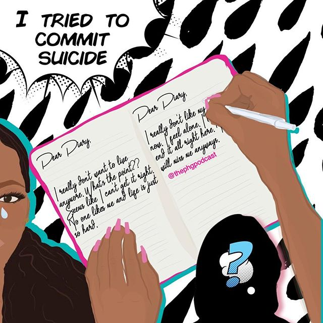Episode 16: I Tried to Commit Suicide is LIVE! During this episode, my guest and I discusses her journey with being bulimic, self harming and suicide ideation. We talked about the #blackgirlmagic syndrome and how it affects us all along with the importance of finding the right therapist that we can see ourselves in. This episode was recorded right after the death of Nipsey Hussle and we both shared how his sudden death affected us and whether or not social media was the blame for our feelings. This episode is full of gems and is extremely helpful with tips on how to overcome your mental health issues. This episode is available on all major streaming podcast platforms! To listen now, click the link in our bio!