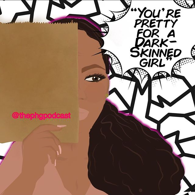"""Episode 28: """"You're Pretty for a Dark-Skinned Girl"""" is LIVE! Growing up in Tennessee, I was always told that I was pretty for a dark-skinned girl. In addition, I remember having a brown paper bag being used to determine how dark I was. My guest and I discuss our thoughts on being both dark skinned women, the entertainment industry, and much more! My guest definitely dropped some gems in this one! Click the link in my bio to listen and this episode is available on all major streaming podcast platforms!"""